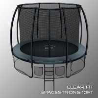 Батут Clear Fit SpaceStrong 14 ft
